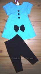 Нарядный летний костюм для девочки Beebaby Бибеби