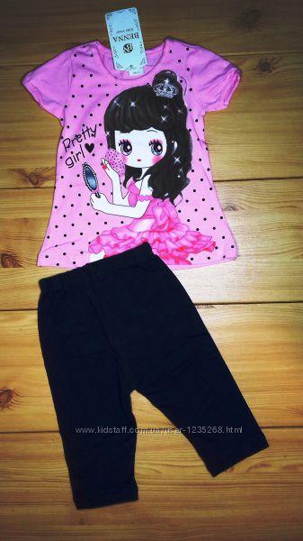 Летний костюм Барби для девочки Beebaby Бибеби