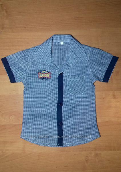 Детская рубашка для мальчика Турция Beebaby Бибеби