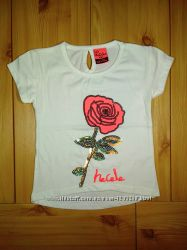 Детская футболка для девочки Роза Beebaby Бибеби