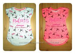 Футболка-туника Paris для девочки Beebaby Бибеби