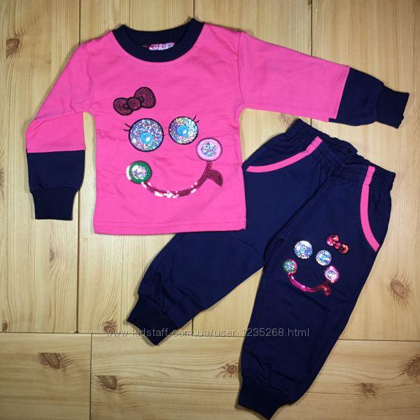 Утепленный костюм для девочки рр. 80-98 Beebaby Бибеби