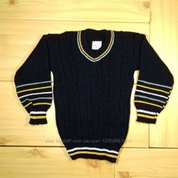 Детский свитер для мальчика рр. 92-110 2 цвета Beebaby Бибеби