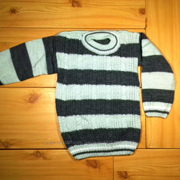 Детский свитер для мальчика рр. 92-110 Beebaby Бибеби