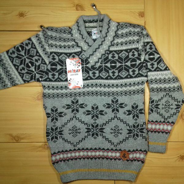 Детский свитер для мальчика рр. 128-152 Beebaby Бибеби