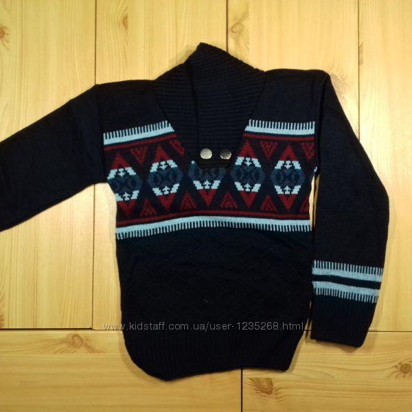 Детский свитер для мальчика рр. 110-128 Beebaby Бибеби