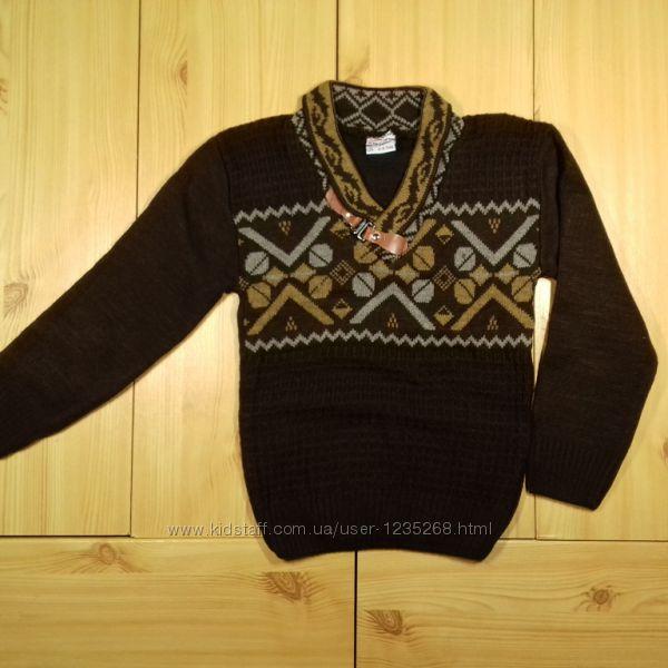 Детский свитер для мальчика рр. 98-128 Beebaby Бибеби