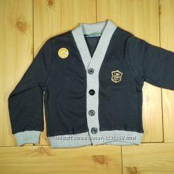 Кофта на пуговицах для мальчика 2 цвета рр. 92-116 Beebaby Бибеби