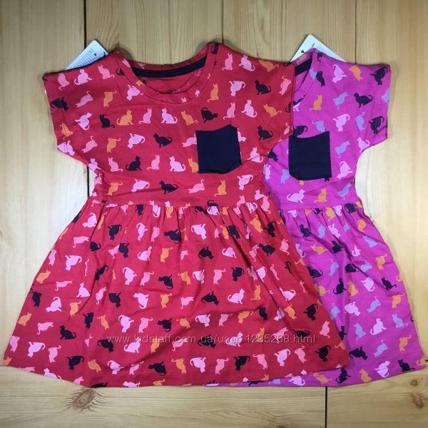 Сарафан для девочки Коты рр. 80-110 Beebaby Бибеби