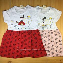 Платье-сарафан для девочки рр. 80-110 Beebaby Бибеби