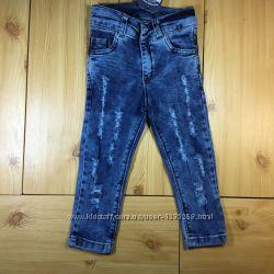Детские джинсы на девочку рр. 92-152 Beebaby Бибеби