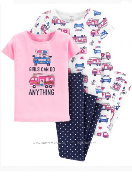 Пижама для девочки рр. 110-122 Carter&acutes Картерс