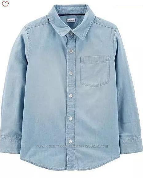 Стильная рубашка для мальчика рр. 128-152 Carter&acutes Картерс