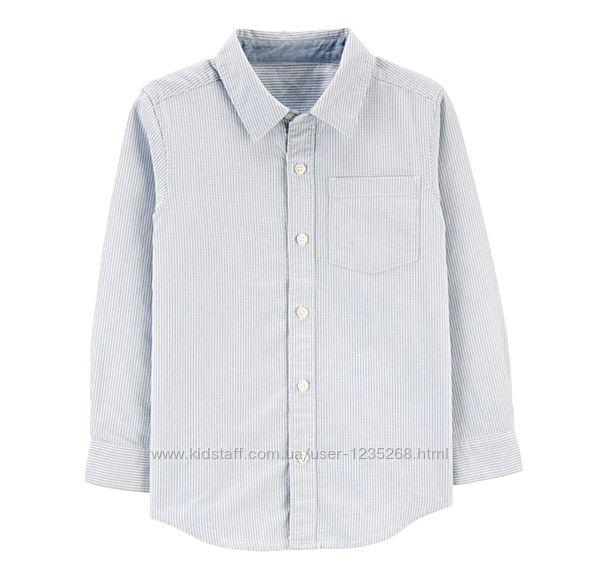 Стильная рубашка для мальчика рр.116-152 Carter&acutes Картерс
