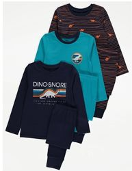 Пижама для мальчика рр.92-122 Динозавр George Джордж