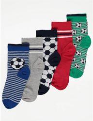 Набор носков для мальчика р.27-40 George Джордж