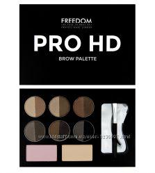Набор для бровей Freedom Makeup London Pro HD Brow Palette