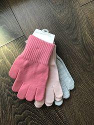 Набор перчаток H&M 4-8 лет