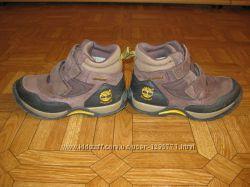 Фирменные ботинки Timberland замша 31 размер 20 см