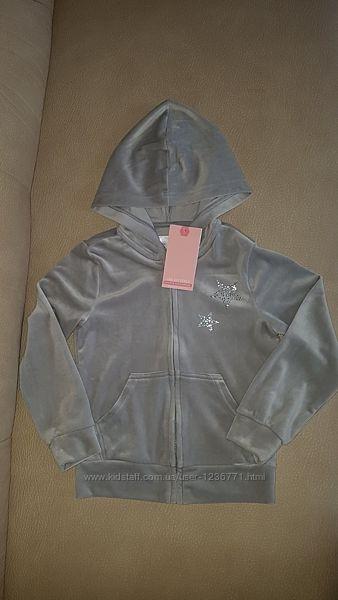 Велюровая кофта GeeJay очень мягусенькая Gloria Jeans 4/6 лет 116 см качест
