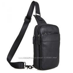 Кожаный рюкзак-сумка 4002A-1