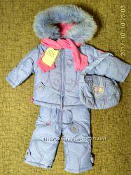 Зимний комбинезон КІКО для девочки - размер 80. Распродажа
