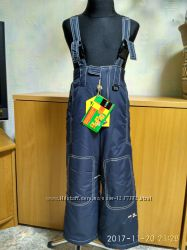 Зимний комбинезон-брюки КІКО синий и хаки-размеры 92 и 104