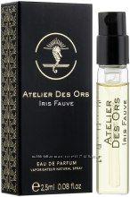 Atelier des Ors Iris Fauve Парфюмированная вода пробник