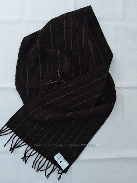 Мужской шерстяной шарф Marks& Spencer.