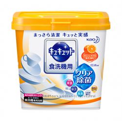 Японский ЭКО порошок для посудомоечных машин с ароматом апельсина