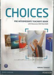 Учебник Choices Pre-Intermediate teacher&acutes book . Электронный вид.