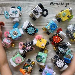 Бизикубик Toy to go карманный бизиборд
