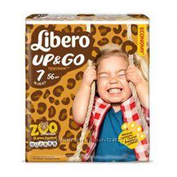 Подгузники-трусики Libero up&go 4, 5, 6, 7