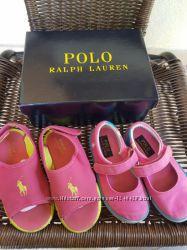 2 пари Ralph Lauren босоніжки, балетки, тапочки 23-24 розмір