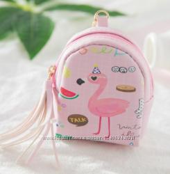 Мини - Сумочки для ключей, денег и других мелких предметов, на брелке