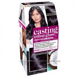 Краска для волос L&acuteOreal Casting Creme Без аммиака 210 Черный Перламутровый