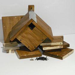 Конструктор Собери с папой - домик для птиц Ромб