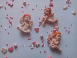 Сахарные украшения для украшения кондитерских изделий
