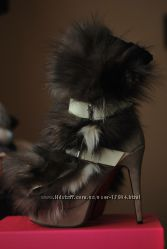 Сапожки с Натуральным Мехом. Christian Louboutin