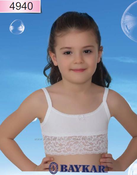 Детское белье из Турции . Топики хлопковые для девочек. Ночные сорочки