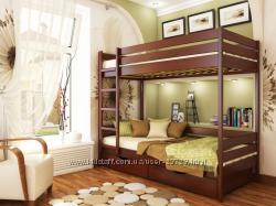 Детские кровати деревянные Бук от Эстелла