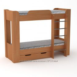 Детские двухъярусные и двухуровневые кровати из ДСП и МДФ