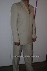 Мужской деловой нарядный костюм р. 50-52 в отличном состоянии