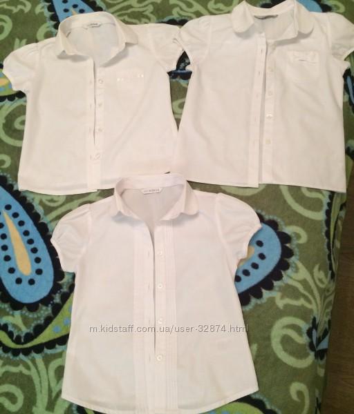 Блузочки М&S и George на девочку 1-2 класс