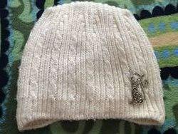 Зимняя шапка на девочку 4-6 лет