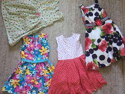 Сарафанчики, платья на девочку 6-8 лет