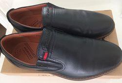 Туфли кожа р.40 стелька 26 см В идеале Темно-синие