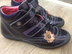 Ботинки лакированная кожа р.32 стелька 21 см В идеале Носили очень мало