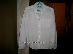 Белые рубашки Cool Club с длинным и коротким рукавом в идеальном сост.