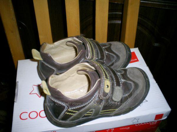 Полуботиночки туфли Cool Club р.26- 27- по стельке 16,5 см, не промокают.